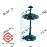 Новое Resin Birdbath с Fountain (W/Pump)