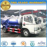 4X2 4000 L真空のトラック販売のためのトラック4トンの下水の吸引の