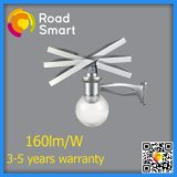 12W 210lm/W integriertes LED Solarstraßenlaterne
