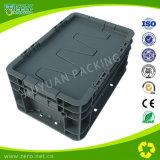 Caixa de dobramento plástica dos produtos plásticos com tampas