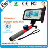 Wasserdichtes bluetooth Aluminum Selfie Stick und Waterproof Bag für Smartphone