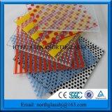 さまざまなパターン緩和されたシルクスクリーンによって印刷されるガラス
