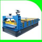 Roulis trapézoïdal de feuille de toiture formant la machine