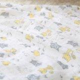 Coperta lavabile della mussola della garza del bambino stampata nuovo cotone