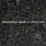 Farfalla Blue Granite Gangsaw Slab per Kitchen Countertop, Vanity Top