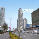 Jiajiaの商業広場の外部のレンダリングのプロジェクト