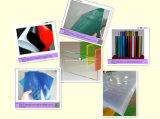 Hoja respetuoso del medio ambiente del PVC de la lámpara de la cubierta de plástico PVC