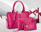 2016 SpitzenSelling Woman Fashionable Wholesale PU Handbags Set 3PCS in 1