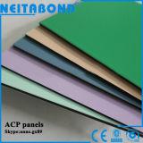 Tarjeta compuesta de aluminio exterior de Neitabond para el revestimiento de la pared con 4m m