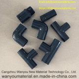 Tubo de água plástica e montagem de tubos fabricados na China