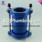 pour l'accouplement flexible commun de Gibault de pipe de PVC