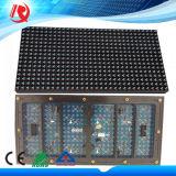 LED 모듈이 옥외 풀 컬러 발광 다이오드 표시 P10 RGB 복각에 의하여 1r1g1b 16X32 점을 찍는다