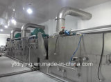 갈가리 찢긴 야자열매 벨트 건조용 기계
