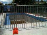 Los paneles temporales galvanizados de la cerca de la piscina