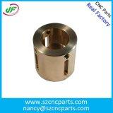 Precisão que faz à máquina o forjamento de aço da maquinaria da máquina do CNC e a parte girada