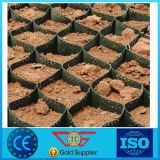 Glattes Oberflächen-HDPE Geocell/Kies-Rasterfeld verwendet im Straßenbau