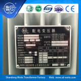 Normes d'IEC/ANSI, transformateur immergé dans l'huile triphasé de la distribution 11kv pour le transport d'énergie