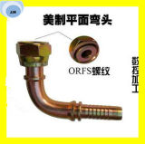 24291-12-10t embout de durites hydraulique de joint plat femelle d'Orfs de 90 degrés