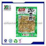 saco de vácuo de nylon selado 3-Sides para o alimento (ZB155)