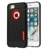 Carbon Fiber Motomo Cell / Mobile Phone Cases para iPhone 7 Case