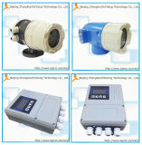 Agua usada agua electromágnetica del flujómetro RS485