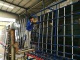 縦ガラスの洗浄および乾燥機械またはガラスの洗濯機の機械装置