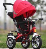 Baby/Kids 세발자전거 아이 고무 바퀴 페달 세발자전거 (OKM-654)