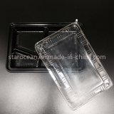 Caixa de almoço de empacotamento do produto plástico do picosegundo