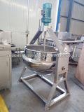 Chaleira Jacketed de cozimento elétrica industrial do agitador dobro do aquecimento de vapor