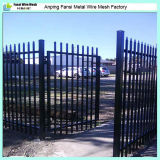 호주 Market를 위한 2.1m Powder Coated Commercial Steel Picket Fence
