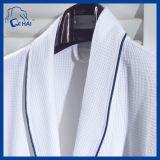 ホテル男女兼用様式のワッフルの鉱泉の浴衣(QHESF00989)