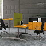 Твердая Bamboo рабочая станция компьютера персоны панели 4 зерна для офисной мебели