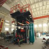 HDPE Flaschen-durchbrennenmaschinen-Preis-Plastikblasformen-Maschine