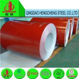 цвет 0.45mm красный Prepainted гальванизированная стальная катушка PPGI