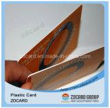 高品質材料PVC IDはPVCプラスチック名刺を梳く
