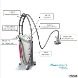 Beauty Salon를 위한 최고 Cellulite Reduction Machine Vacuum Roller Body Massage