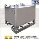 350 emballage chimique Ibcs d'acier inoxydable du gallon SUS304