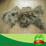 Singola coperta della pelle di pecora del cuoio