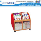 L'étagère de livre en bois colorée badine les meubles (HC-3603)