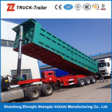 China Trailer Manufacture Tipping Truck Trailer Tipper Trailer für Sale