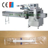 Automático em Edge Biscuit / Bakery Food Horizontal Flow Packing Machine