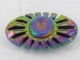 Girador da inquietação dos brinquedos da mão do arco-íris do metal com alta velocidade