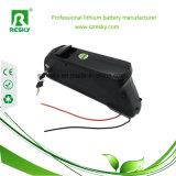 Unten Gefäß 48V 11.6ah Li-Ionbatterie für elektrisches Fahrrad mit Panasonic-Zellen
