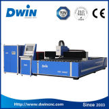 цена автомата для резки лазера волокна металлического листа трубы CNC 3000W квадратное