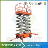 Constructeurs de levage de ciseaux de qualité de la Chine
