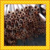 Tubulação de cobre retangular
