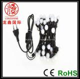 Corde de lumière de boule de perle de LED