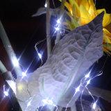 Het Licht van het LEIDENE Koord van het Koper voor de Decoratie van de Vakantie van Kerstmis van de Portiek van de Tuin van het Huwelijk van de Partij van het Huis