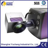 Máquina en línea de la marca del laser del CO2 del nuevo diseño para las botellas del animal doméstico