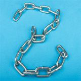 DIN766, DIN764, DIN5688A/Cgalvanized soldou a corrente de ligação de aço